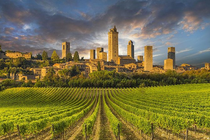 Full-Day Tuscany Wine Tasting, Siena and San Gimignano from Rome