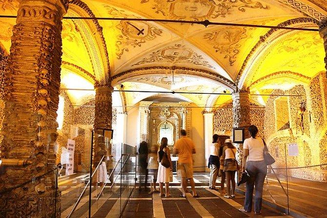 Private Tour: Évora, Chapel of Bones Tickets, Lunch, Wine Tasting