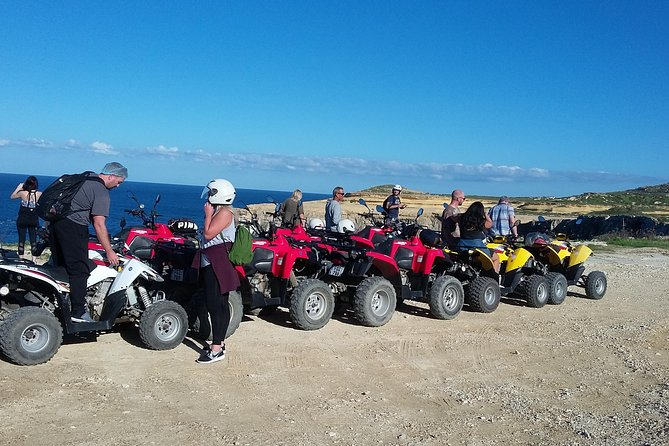 Afternoon Half Day Quad Tour in Gozo