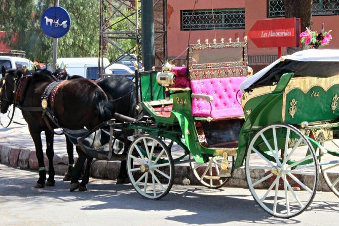 Jardines de Marrakech por Caleche
