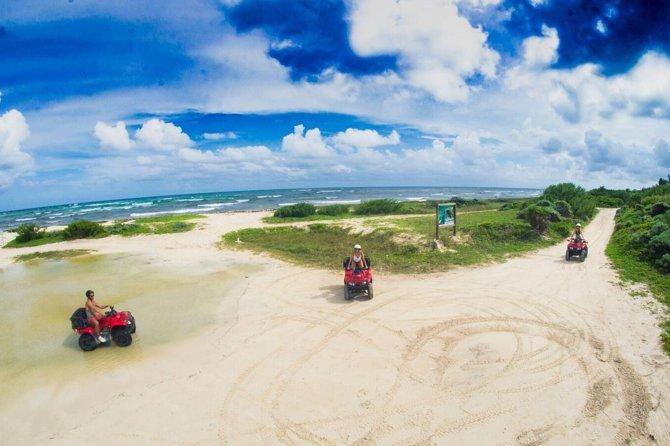 ATV Seashore Combo: Aventure à Mezcalitos et plongée en apnée optionnelle à Playa Uvas