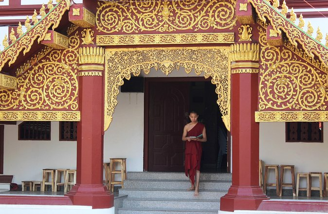 A Venerable Meeting with a Monk
