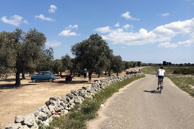From Lecce to the Coast Full-day Bike Tour
