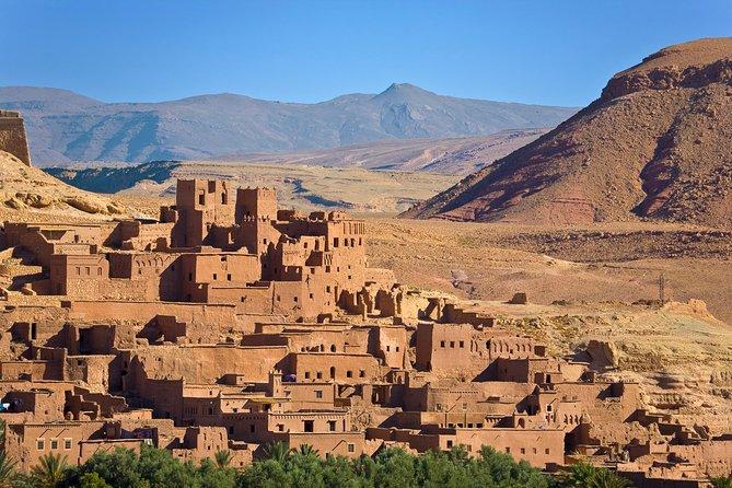 Dagstur fra Marrakech til Atlasfjellene og den gamle Ait Benhaddou Kasbah