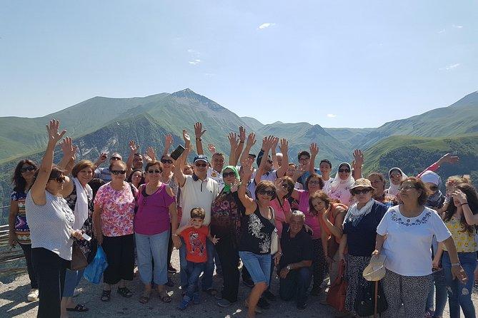 Jinvali-Ananuri-Gudauri-Kazbegi private tour