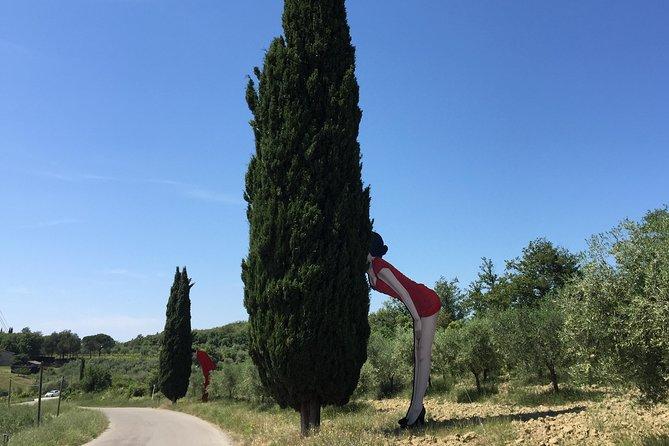 Contemporary Art In The Chianti Hills