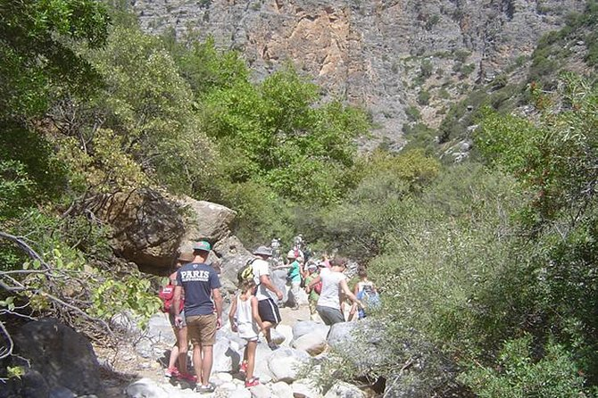 Hiking Walking Gorge in Crete with Lunch nearby Chersonissos
