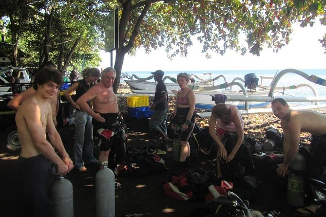 PADI Discover Scuba Diving for Beginners in Tulamben