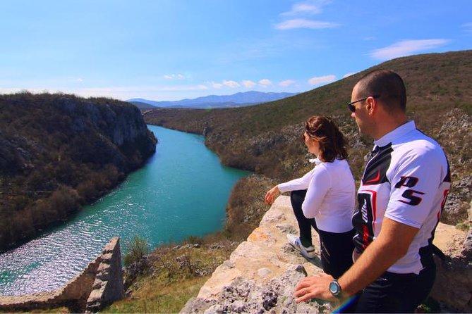 Halbtägige dalmatinische Radtour