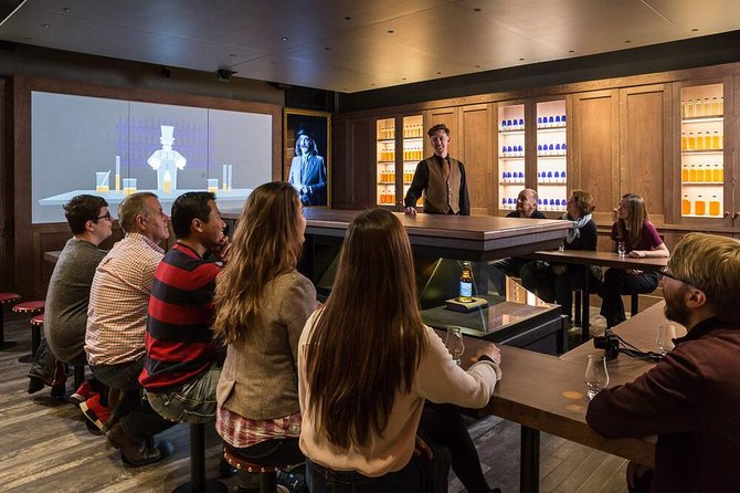 The Scotch Whisky Experience Guided Whisky Tour - An Introduction to Whisky