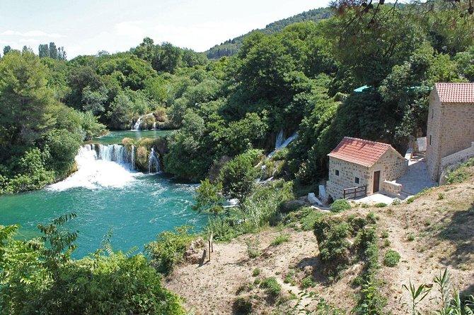 Private tour to Krka Waterfalls and Šibenik from Trogir
