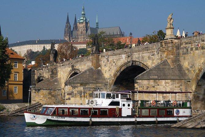 Lunch Cruise on Vltava River in Prague