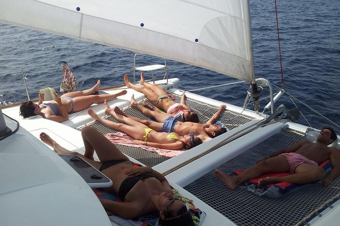 Ibiza Beach Hopping by Catamaran