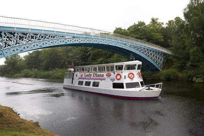 Cruzeiro de ponte de ferro de 2 horas no Rio Dee em Chester