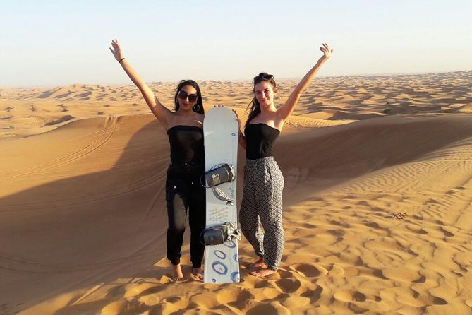 Morning Desert Safari with Sand boarding and Camel Ride photo 12