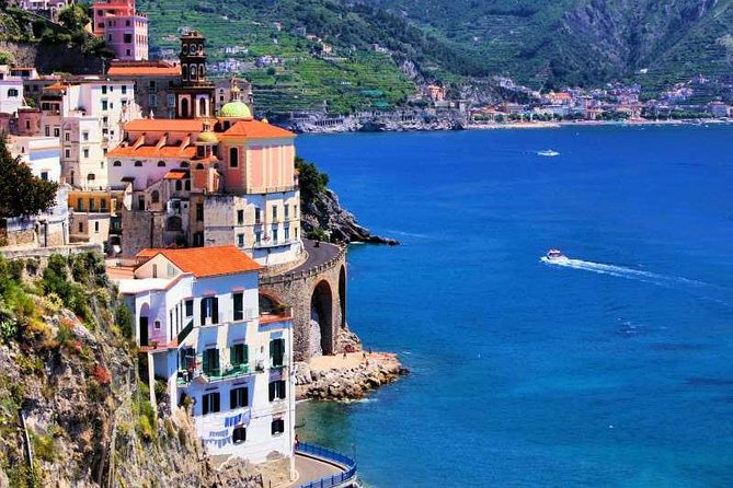 Private Pompei & Amalfi coast drive with Positano stop from Rome