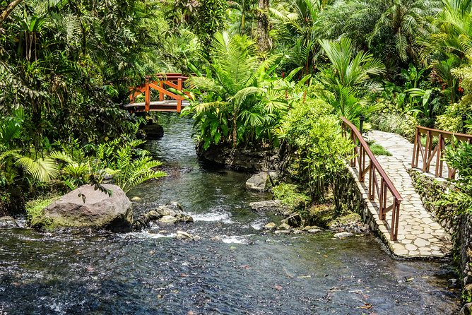 Combo Tour with Hanging Bridge,Waterfall,Volcano Hike and Tabacon Hot Springs photo 12