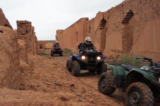 Marrakech Palm Oasis and Desert Quad Bike Adventure