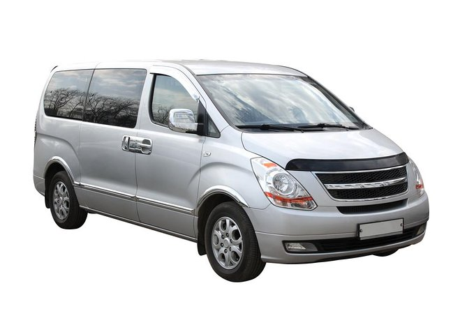 Transfer in private minivan from Denver Downtown to International Airport (DEN)