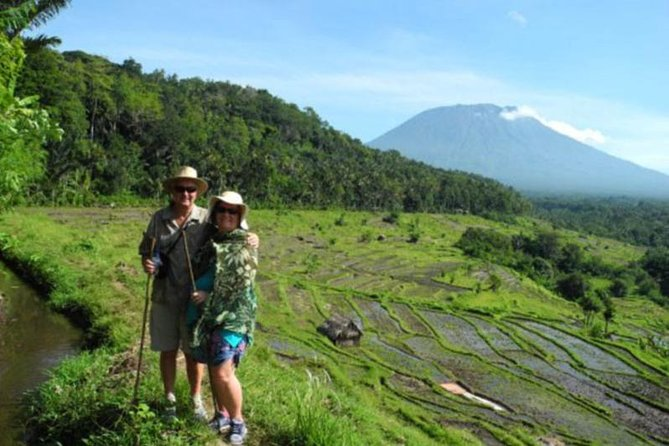 Bali Trekking Tour Including Tirta Gangga and Virgin Beach