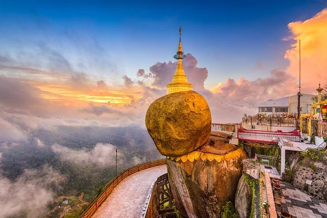 Golden Rock Day Return Trip from Yangon