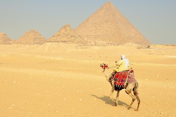 Full-Day Tour of Egyptian Museums and Giza pyramids
