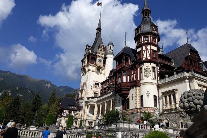 Bran -Dracula and Peles Castle One Day Trip from Bucharest for Small Group