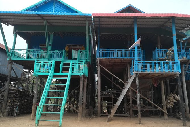 Kampong Phluk Floating Village, Killing Field and War Museum