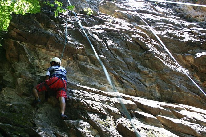Rock Climbing at Nagarjun National Park Near Kathmandu