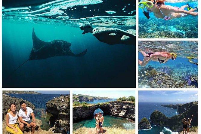 Nusa Penida Island Tour og Triple Snorkling Steder