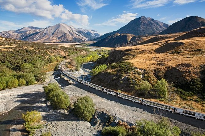 Day Trip to Arthur's Pass including TranzAlpine Train from Christchurch