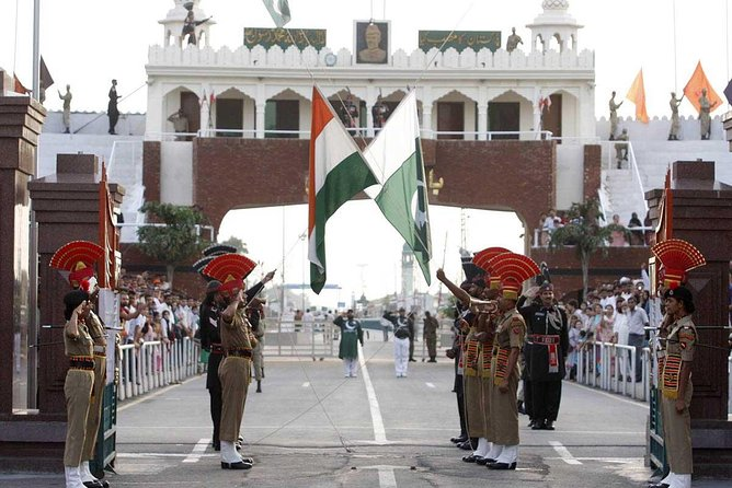 Flag Ceremony at Attari from Amritsar