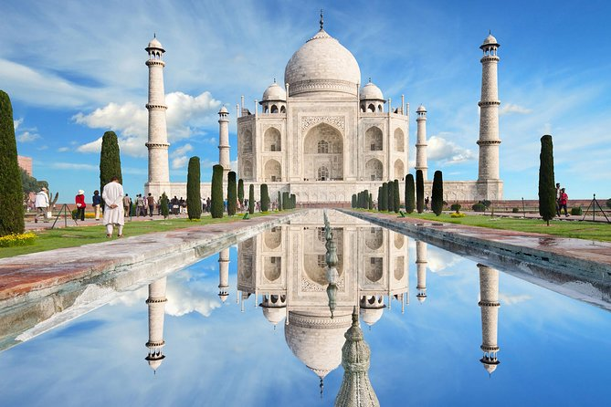 Private Agra Taj Mahal and Agra Fort Day Trip by Rail from Delhi