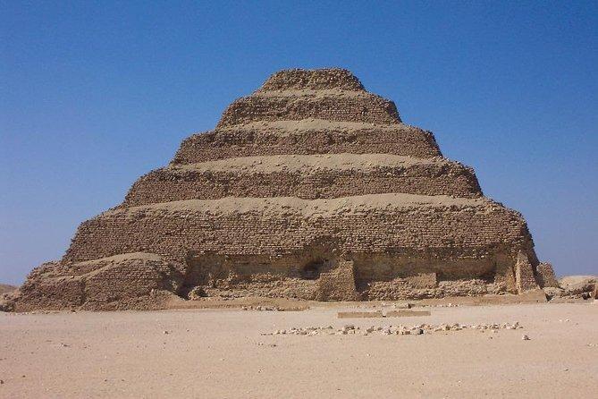 Giza pyramids, Saqqara pyramids, Memphis Museum, including Lunch