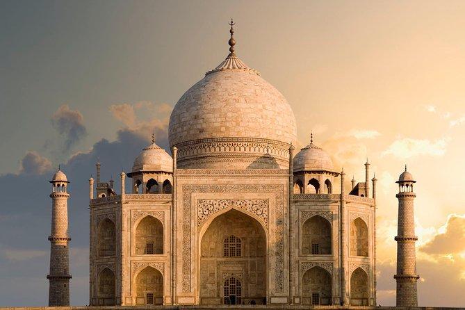 Taj Mahal view while having Evening High Tea