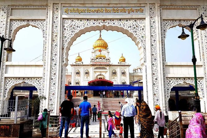 Old Delhi Sikh Temple, Church & Hindu temple tour