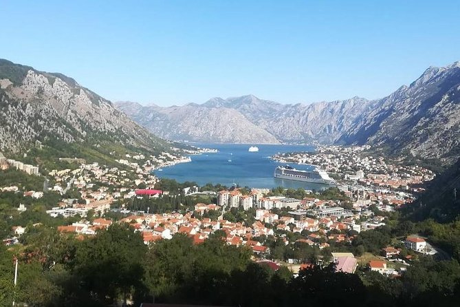 Kotor walking tour and Trojica viewpoint - private tour