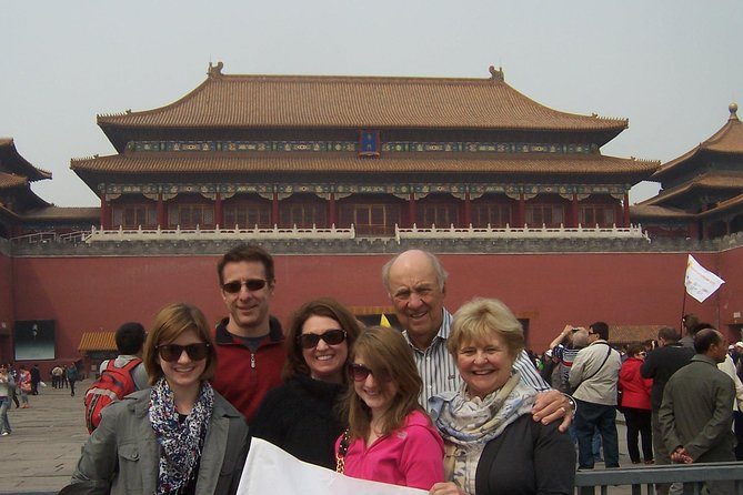 Beijing Layover Highlights Tour: the Forbidden City and Mutianyu Great Wall
