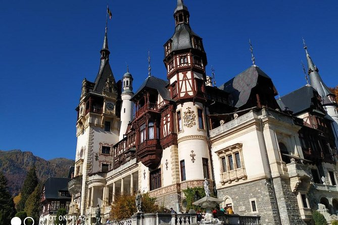 Private Tour Bran and Peles Castles & Brasov Bucharest Hotel Pick Up/ Drop Off