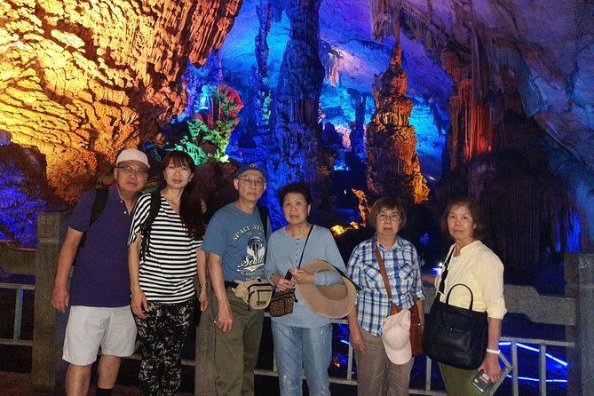 Guilin Reed Flute Cave & Yao mountain & Daxu old town day tour with the Lunch