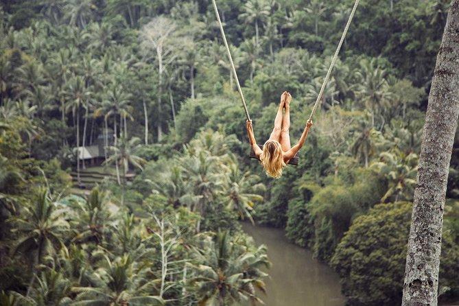 Bali Jungle Swing Experience and Kintamani Volcano Tour