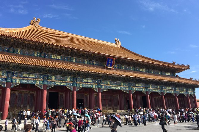 Private Tour: Forbidden City,Summer Palace with Pekin Roast Duck Lunch