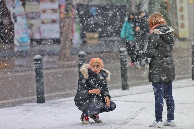Seoul Paparazzi Concept Snap Photo