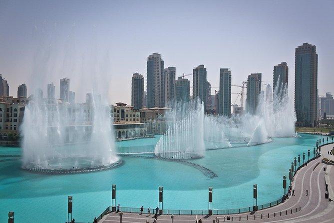 Burj Khalifa and Musical Fountains