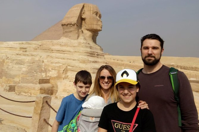 Giza pyramids and Cairo Day trip from Hurghada by domestic Flight