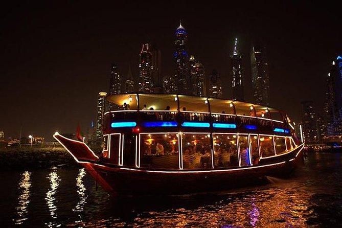 Romantic Dhow Cruise Dinner Dubai Marina