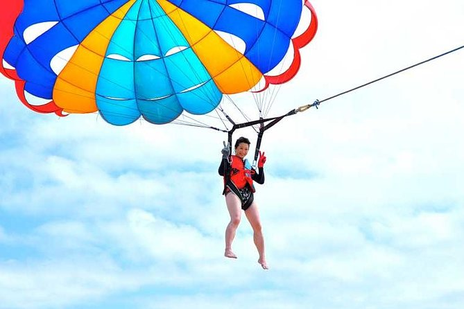 Bali Watersport : Parasailing Adventure, Banana boat, and Jet Ski with Transfer