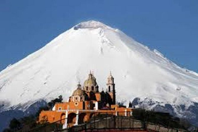 Cholula Pyramid and Puebla: Private Tour From Mexico City