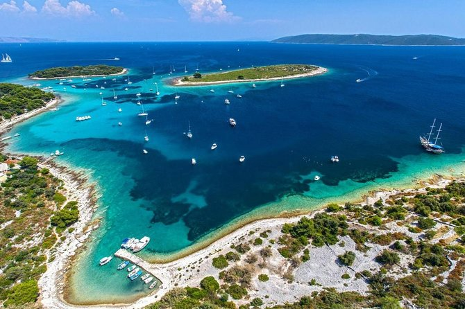 Full-Day Blue Lagoon Boat Tour from Split or Trogir