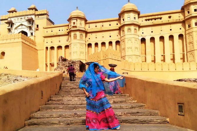 Excursión a los fuertes y palacios de Jaipur